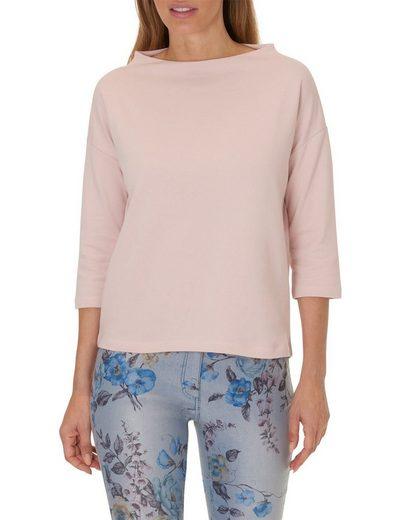 Betty Barclay Sweatshirt schlicht mit Stehkragen