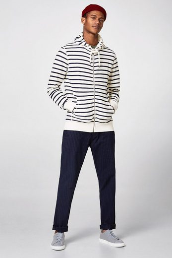 ESPRIT Hoodie-Cardigan aus strukturiertem Jersey