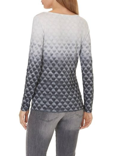 Betty Barclay Sweatshirt mit Allover Muster