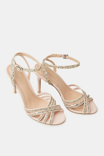 ESPRIT Sandalette mit funkelndem Glitter