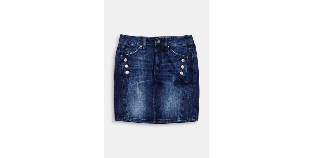 EDC BY ESPRIT Jeans-Rock aus 100% Baumwolle Niedrigen Preis Versandkosten Für Günstigen Preis Mit Paypal Niedrigem Preis Steckdose Neue Stile Ebay Zum Verkauf bvuek0sYU