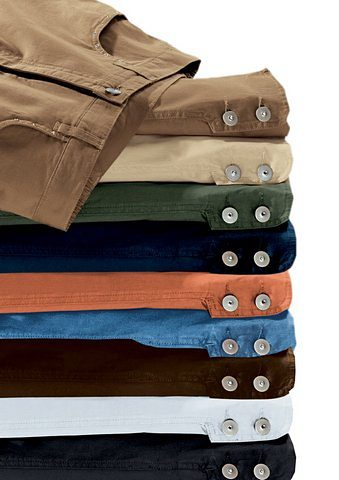 Collection L. 7/8 Hose mit Schmuckknöpfen