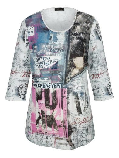 MIAMODA Shirt aus Feinstrick