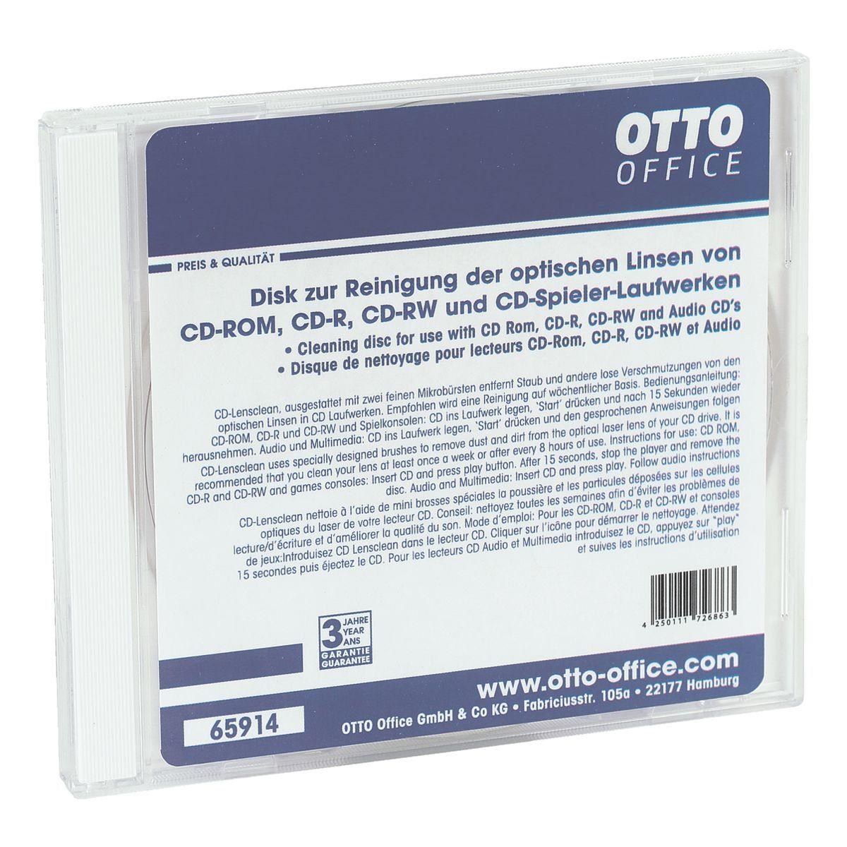 OTTOOFFICE STANDARD Laufwerk-Reiniger »CD-Lens-Clean«