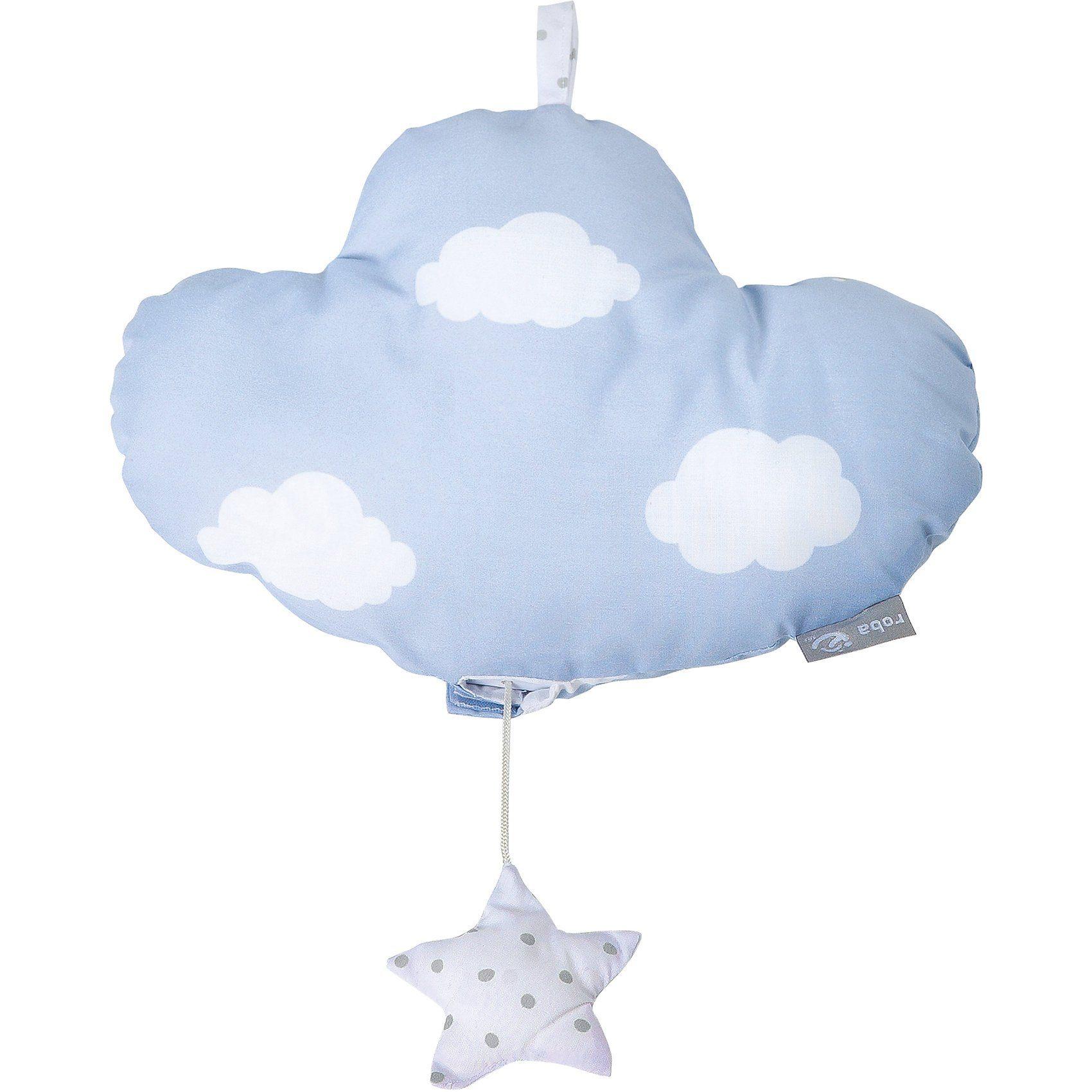 Roba® Spieluhr Kleine Wolke, mit Stern, blau