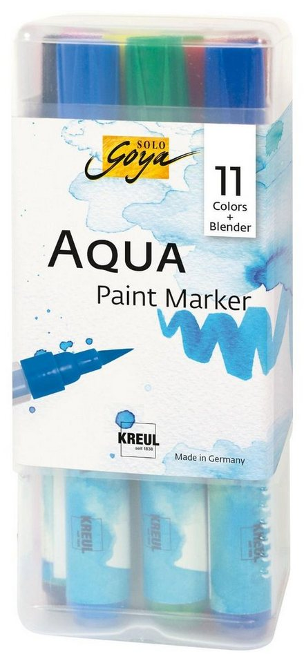 "Kreul Aquarellstifte-Set ""Solo Goya Aqua Paint Marker"" 12er-Set online kaufen"