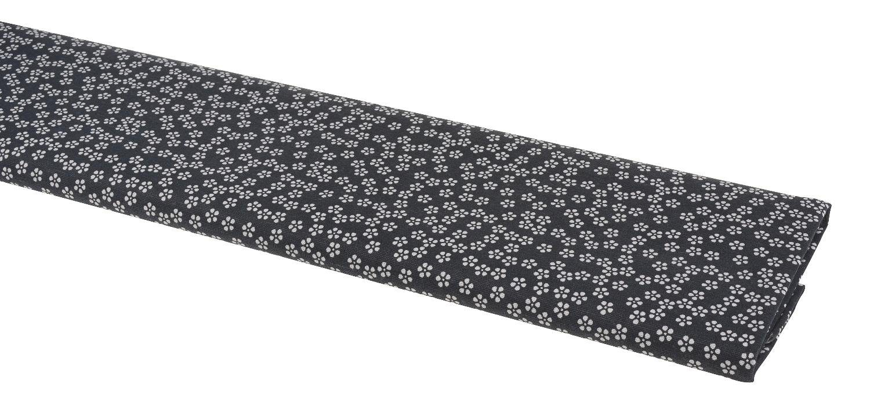 """VBS Motiv-Stoff """"Country Flowers Blau"""" 155 cm breit (Meterware)"""