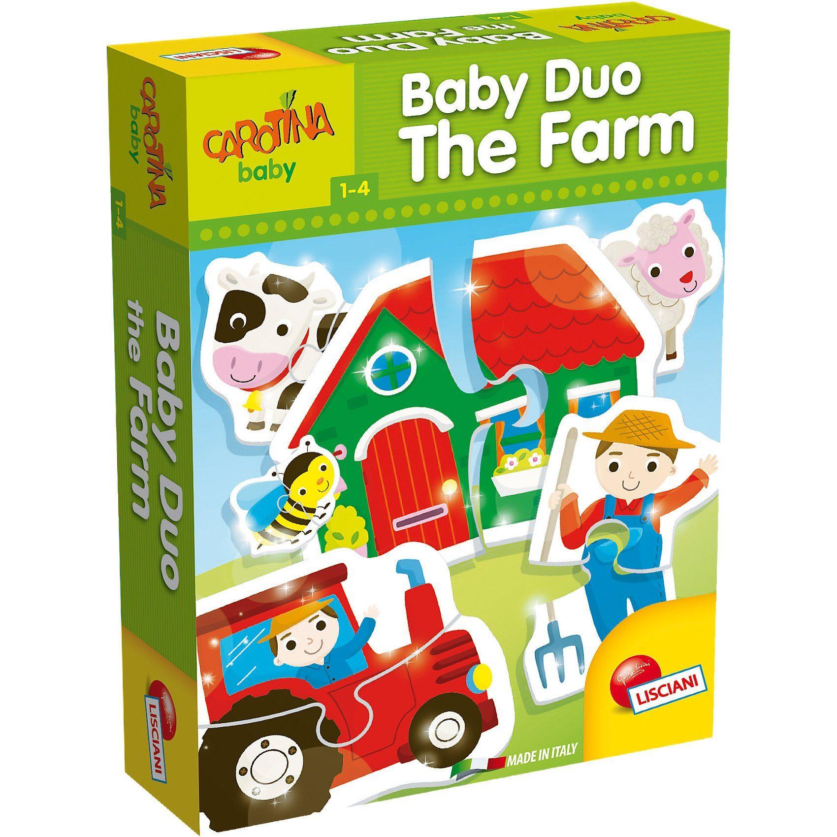 Lisciani Baby Duo - Bauernhof