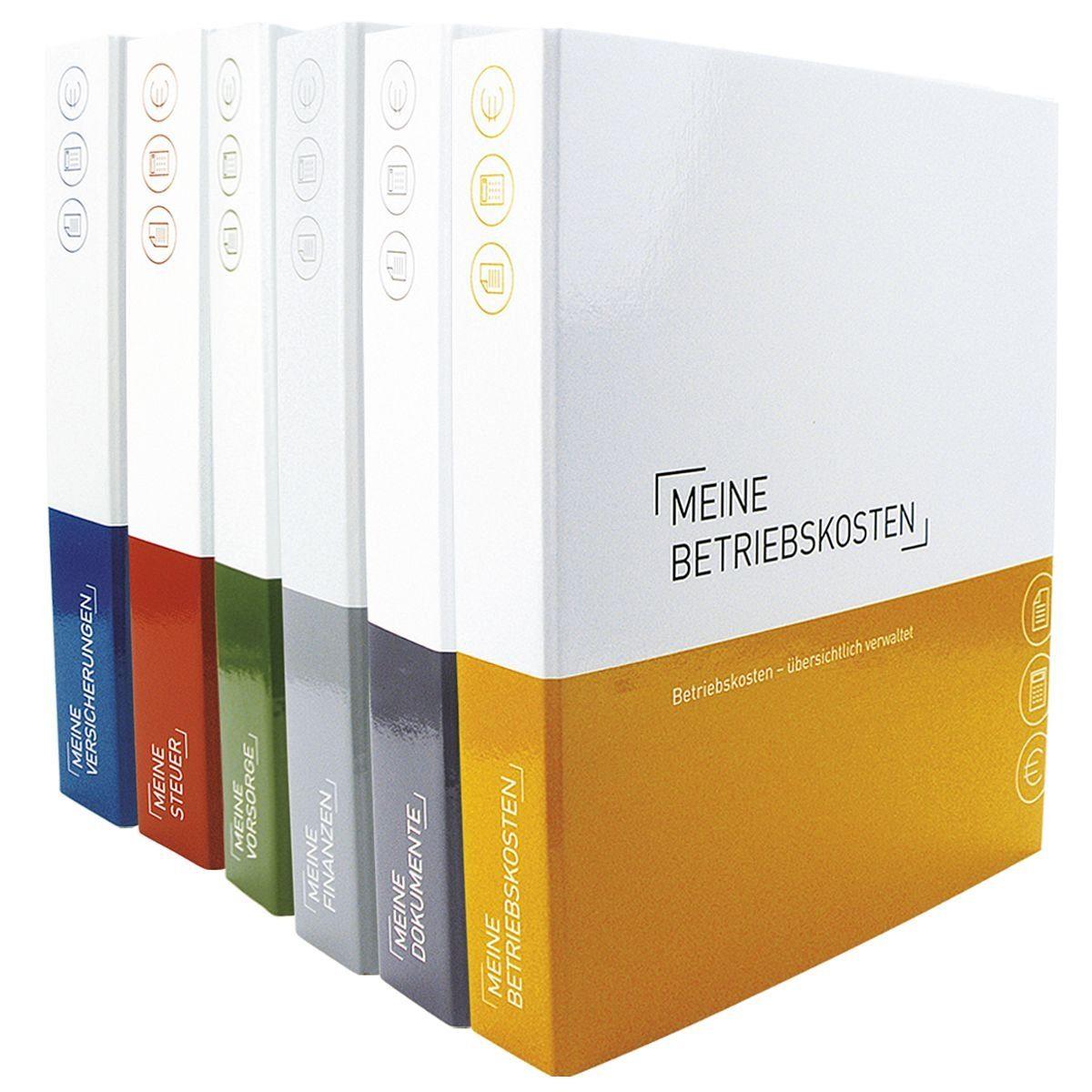 6er-Pack Themenringbücher mit Register für Versiche... 1 Set