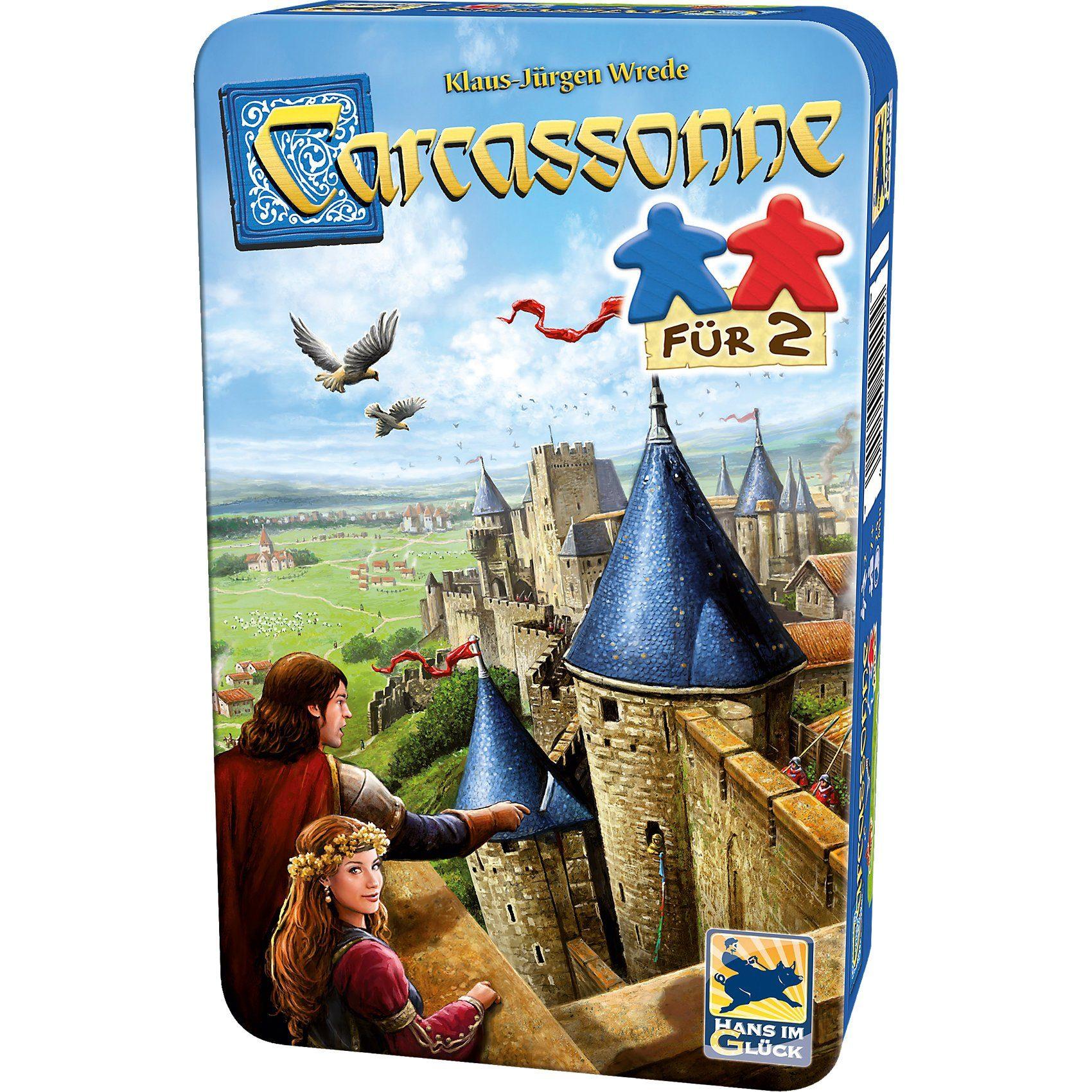 Hans im Glück Carcassonne, Spiel Für 2