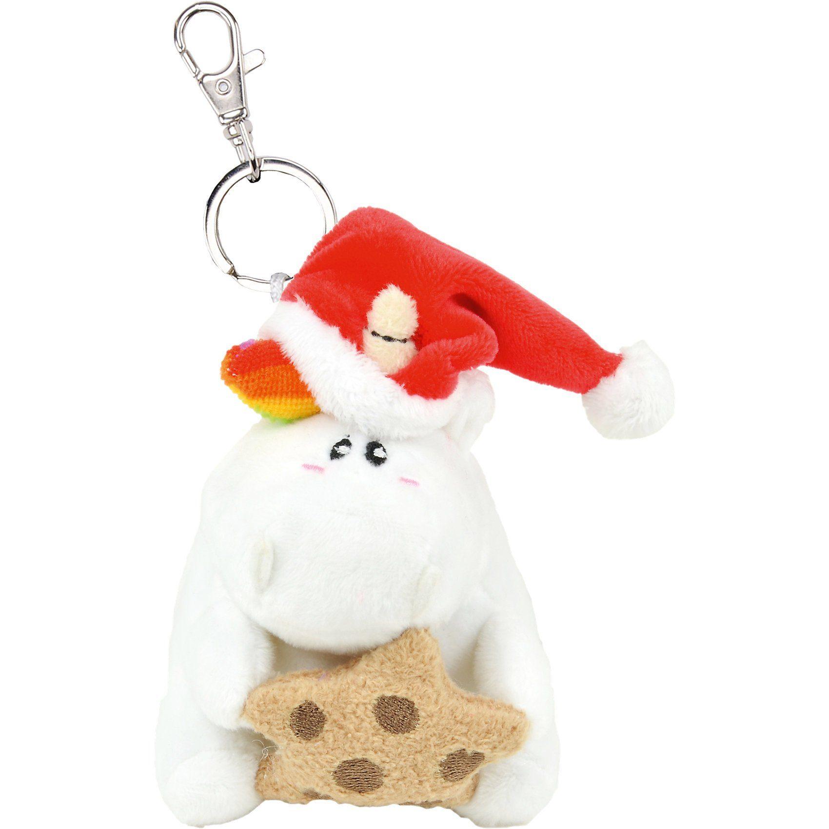 United Labels® Weihnachten Plüsch-Schlüsselanhänger, 10 cm