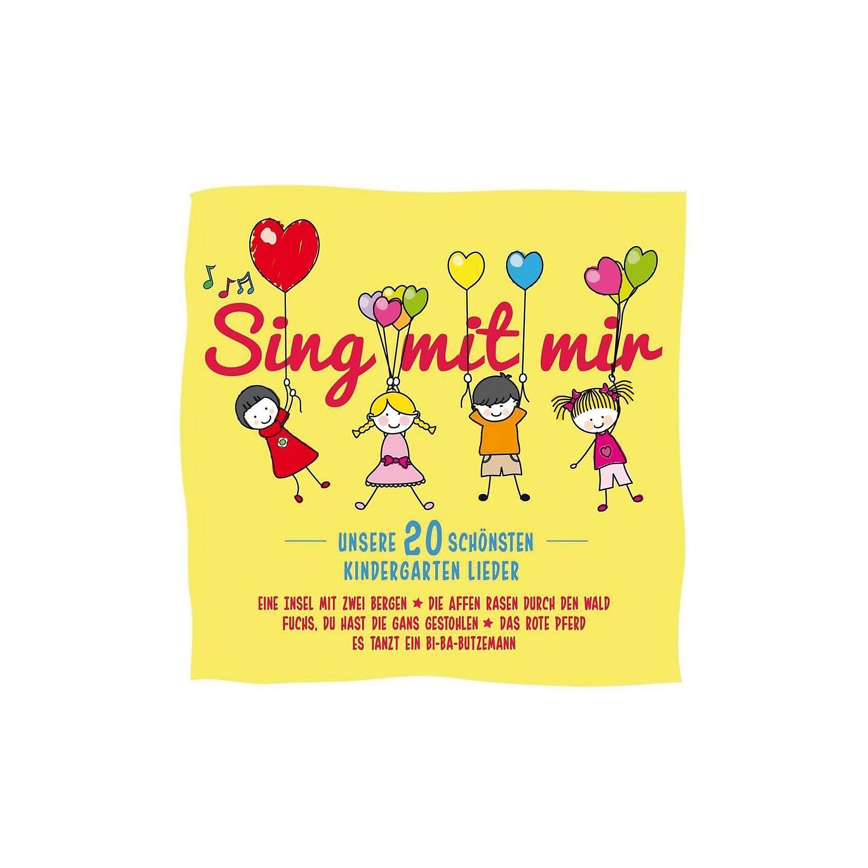 CD Sing mit mir - Unsere schönsten 20 Kindergartenlieder