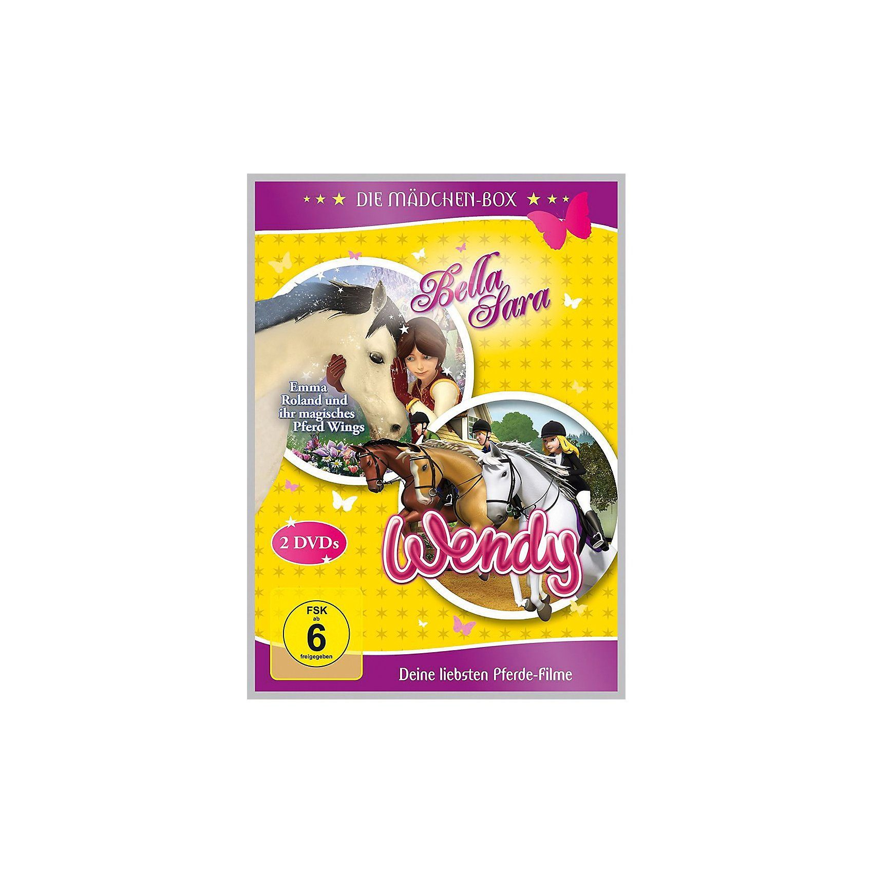 """DVD Die Mädchen-Box """"Bella Sara und Wendy"""" - Deine liebsten"""