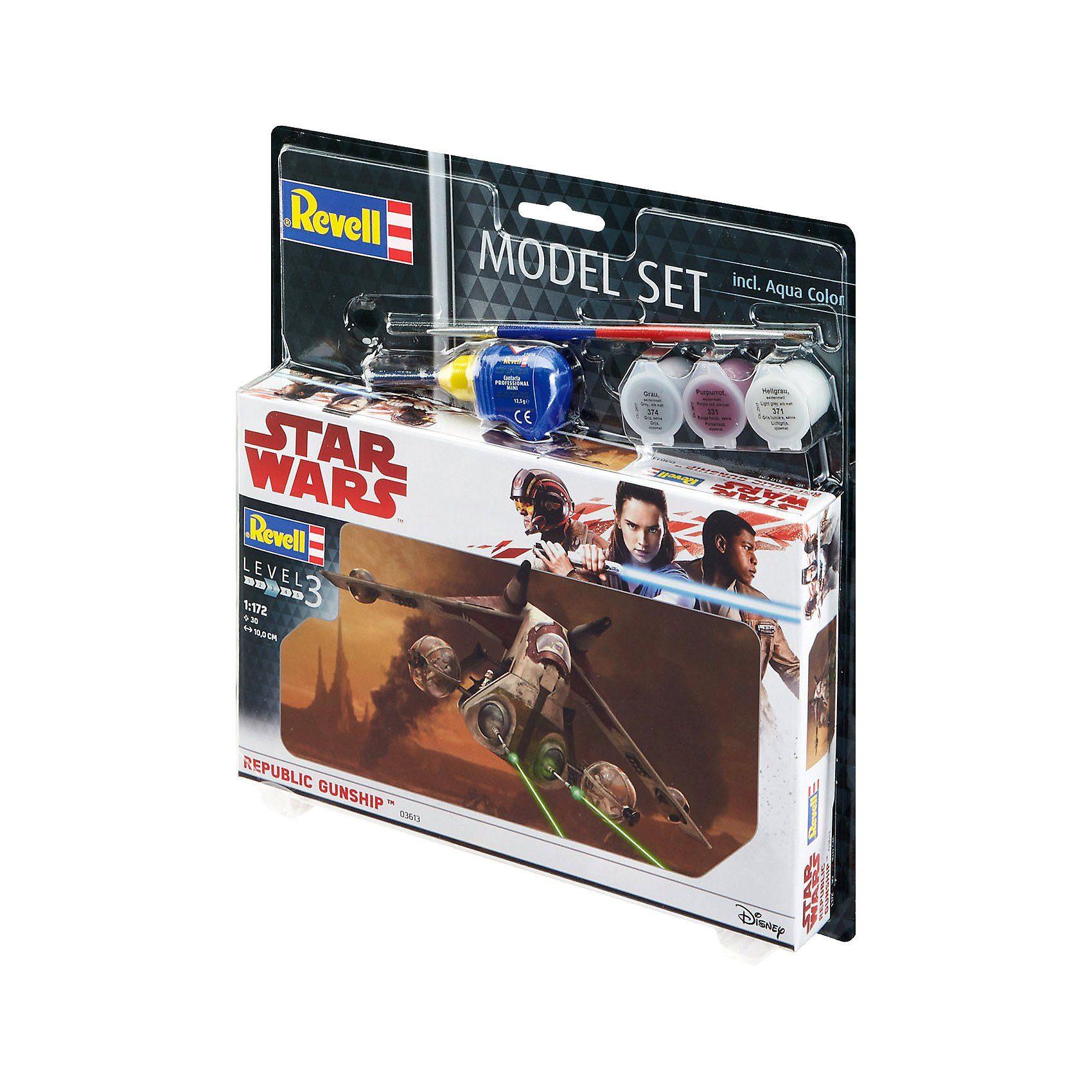 Revell® Modellbausatz Model Set - Star Wars Republic Gunship