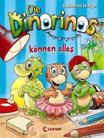 Gebundenes Buch »Die Dinorinos können alles / Die Dinorinos Bd.1«