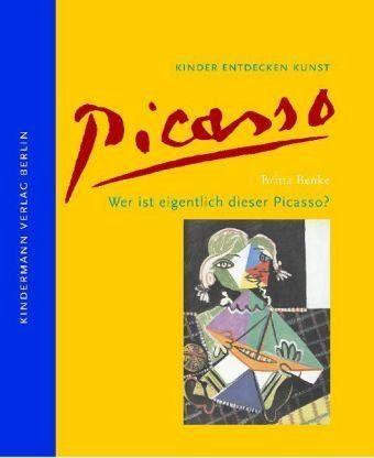 Buch mit Leinen-Einband »Wer ist eigentlich dieser Picasso?«