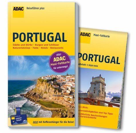 Broschiertes Buch »ADAC Reiseführer plus Portugal«