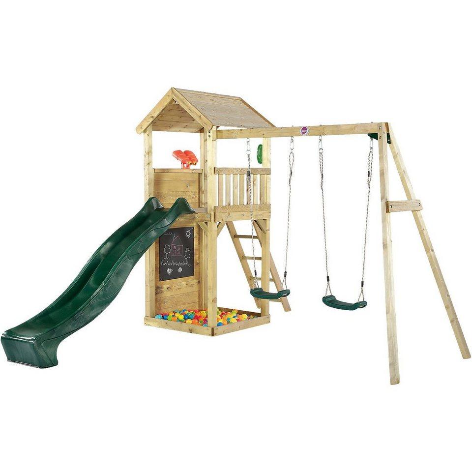 Plum Holz Aussichtsturm mit Doppelschaukel kaufen