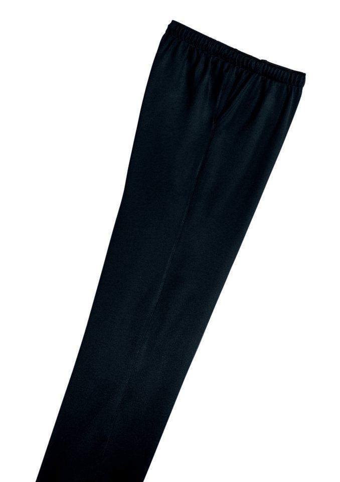 Schneider Freizeithose in hochwertigem cotton-tech in schwarz