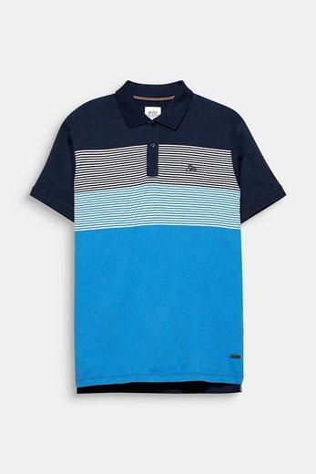 EDC BY ESPRIT Jersey-Poloshirt aus Baumwolle