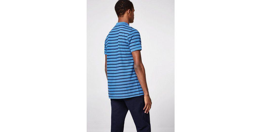 Günstiges Preis Original ESPRIT Piqué-Poloshirt mit knalligen Streifen Freies Verschiffen Für Nette Outlet Rabatt Authentisch Neue Und Mode 5IV4GC