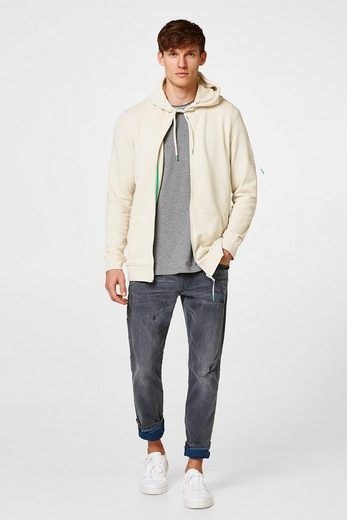 ESPRIT Sweat-Cardigan mit Kapuze