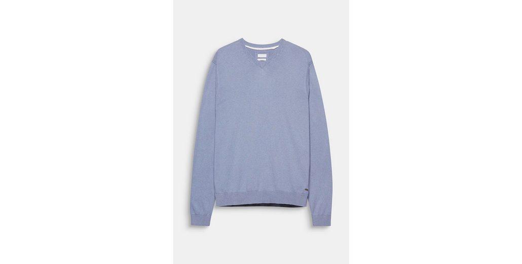 ESPRIT COLLECTION Pullover aus feinem Baumwoll-Seiden-Mix Freies Verschiffen Rabatt X32B5w