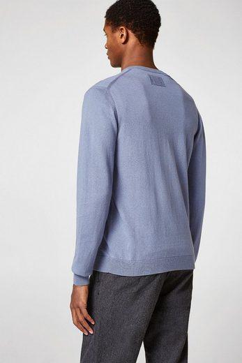 ESPRIT COLLECTION Pullover aus feinem Baumwoll-Seiden-Mix