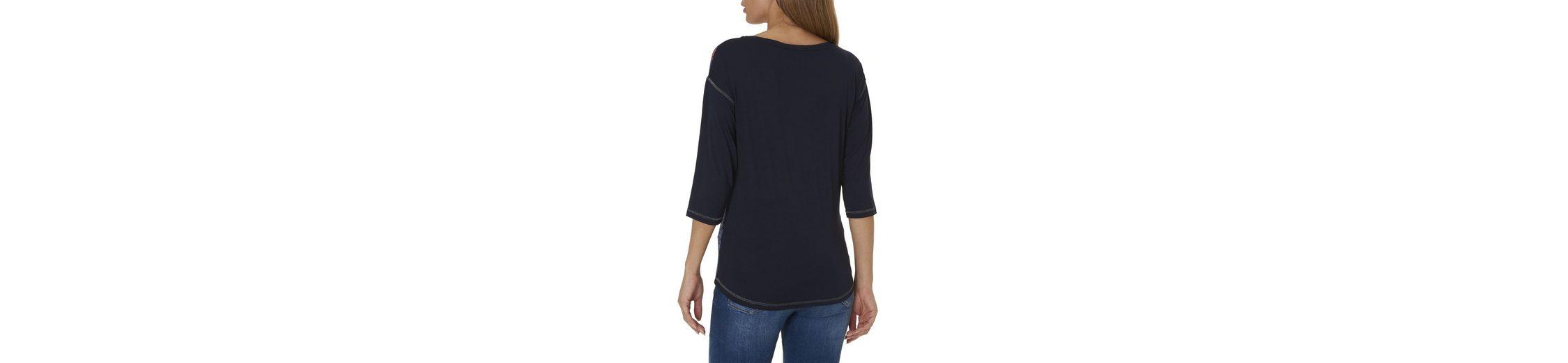 mit platziertem Shirt buntem Betty Front Print Front Shirt Betty Print platziertem Barclay Barclay Betty Barclay buntem Shirt mit wwSxRqA0HW