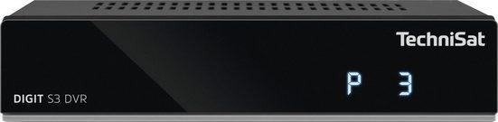 TechniSat »DIGIT S3 DVR HD-« Satellitenreceiver (LAN (Ethernet), mit PVR Aufnahmefunktion über USB, HDMI)