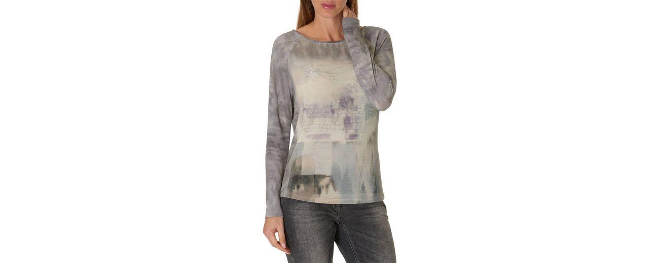 Freies Verschiffen Viele Arten Von Betty Barclay Langarmshirt mit Allover Muster Top-Qualität Zum Verkauf KsBQP