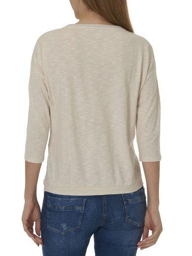 Betty Barclay 3/4 Arm Shirt mit platziertem Front Print