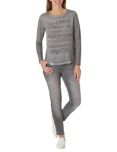 Betty Barclay Langarmshirt mit Frontprint