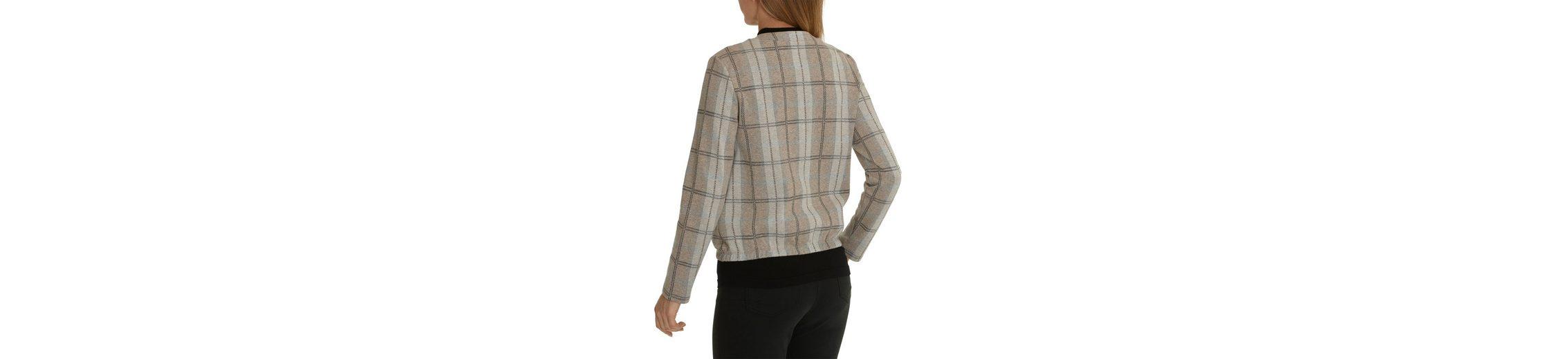 Betty Barclay Shirtjacke mit Karomuster Wirklich Günstig Online r5Mgvl8