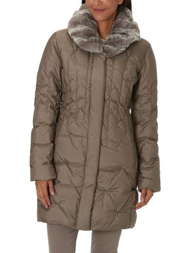 Betty Barclay Daunenjacke mit Webpelzkragen