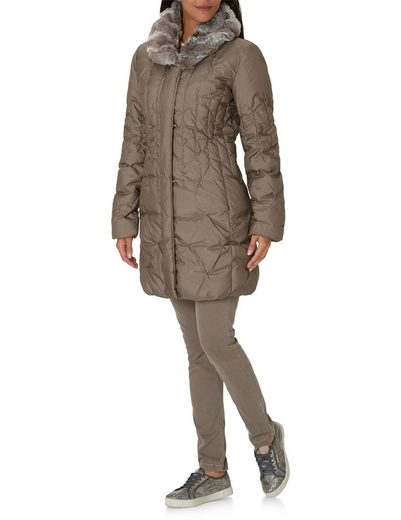 Betty Barclay Down Jacket With Faux Fur Collar