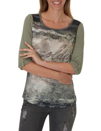 Betty Barclay Shirt mit platziertem Front Print