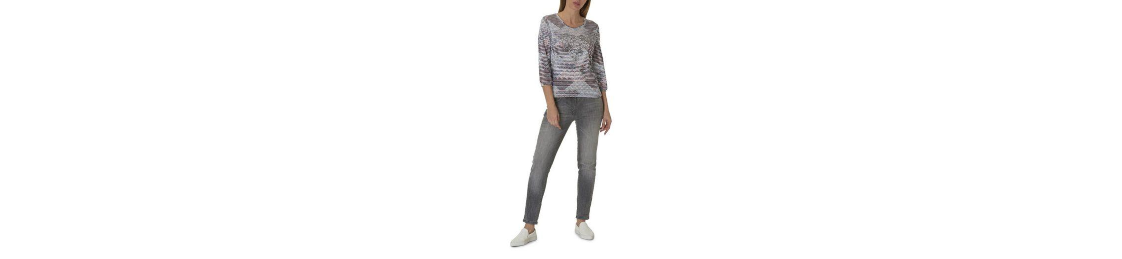 Betty Barclay Shirt mit Mustermix und Strasssteinen Finish Zum Verkauf Brandneues Unisex Günstiger Preis 95UFU