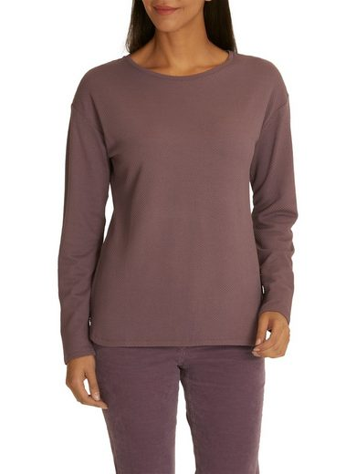 Betty Barclay Sweatshirt mit Struktur und Rundhals