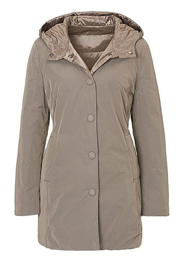 Betty Barclay Jacke mit Webpelzkapuze