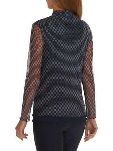 Betty Barclay Shirt mit transparenten Ärmeln