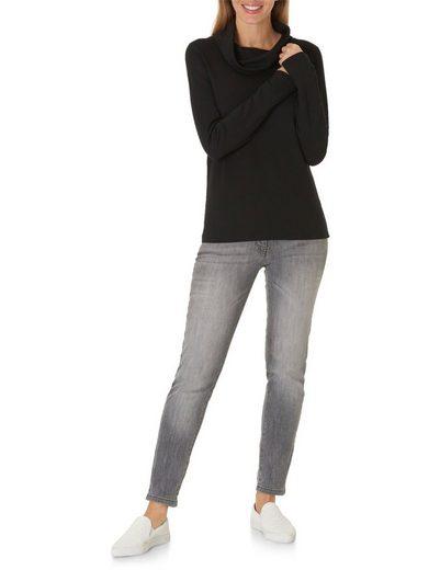 Betty Barclay Rollkragenshirt mit langen Ärmeln