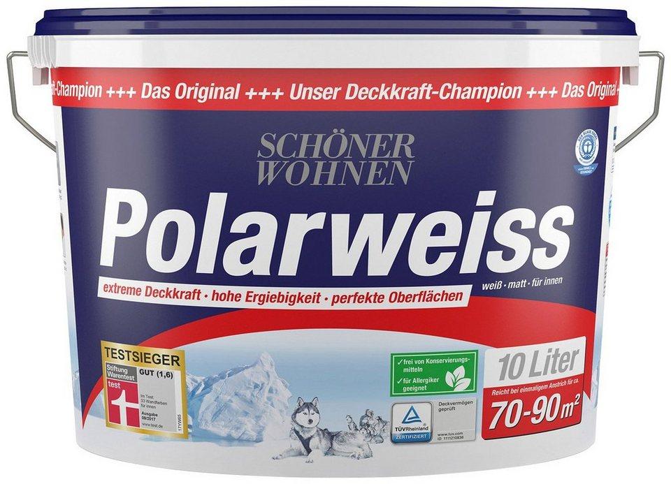 sch ner wohnen farbe innenfarbe polarweiss 10 l otto