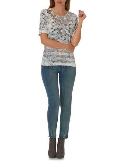 Betty Barclay Shirt mit Ausbrenner Effekt