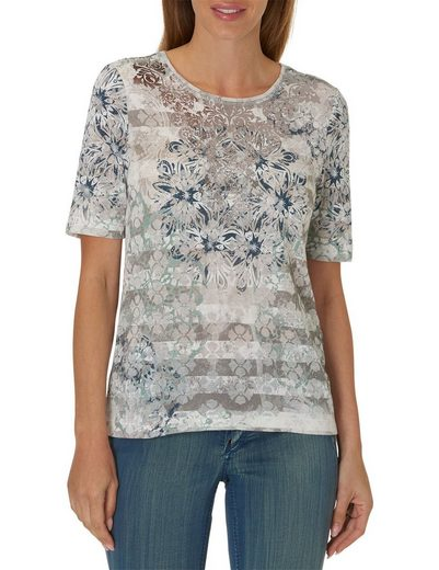 Betty Barclay Shirt mit Ausbrenner Effekt