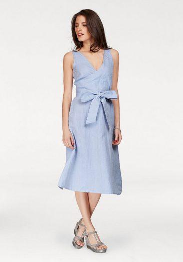 Vivance Summer Dress In Wrap-optics