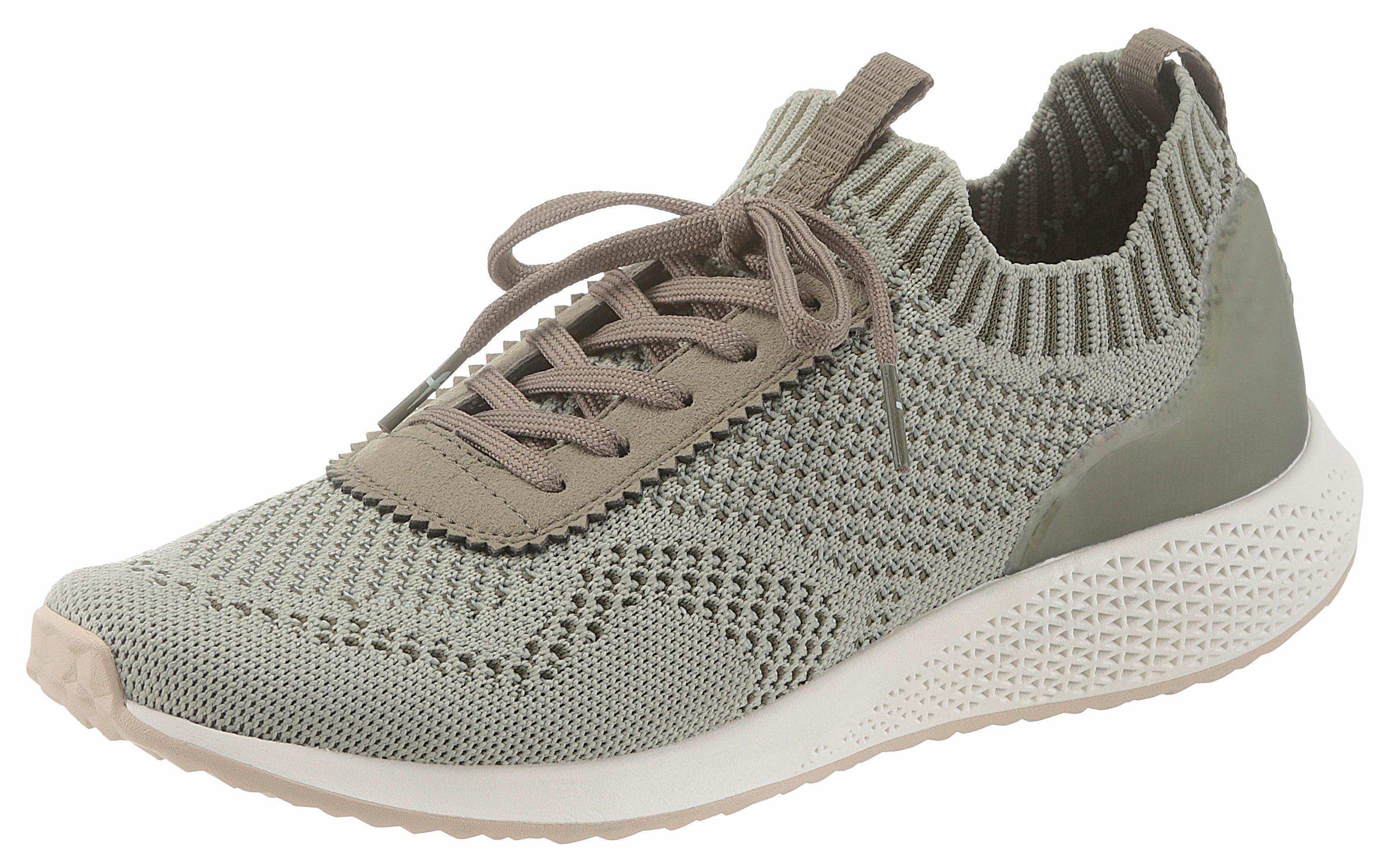 Tamaris Fashletics Sneaker, mit Sockenähnlichen Schaft online kaufen  olivgrün
