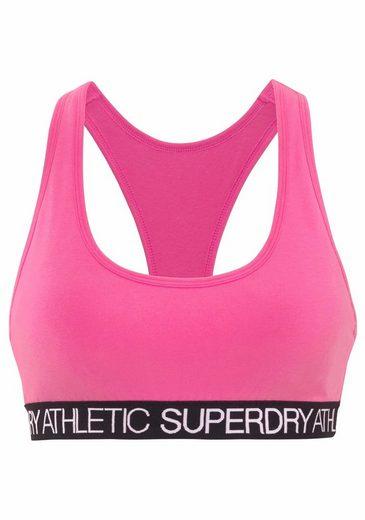 Mit Athletic Pink Racerback Bustier Superdry YHIE2eWD9