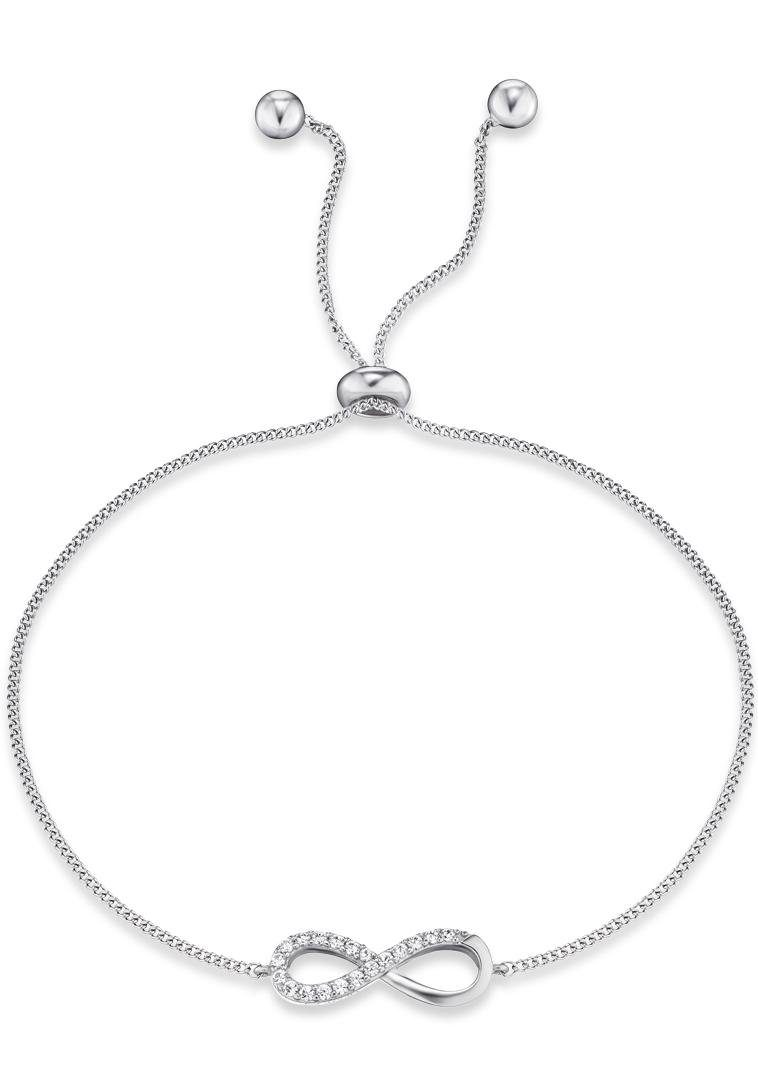 Engelsrufer Silberarmband »Little magic, ENGELSRUFER INFINITY, ERB-LILINFINITY-ZI« mit Zirkonia