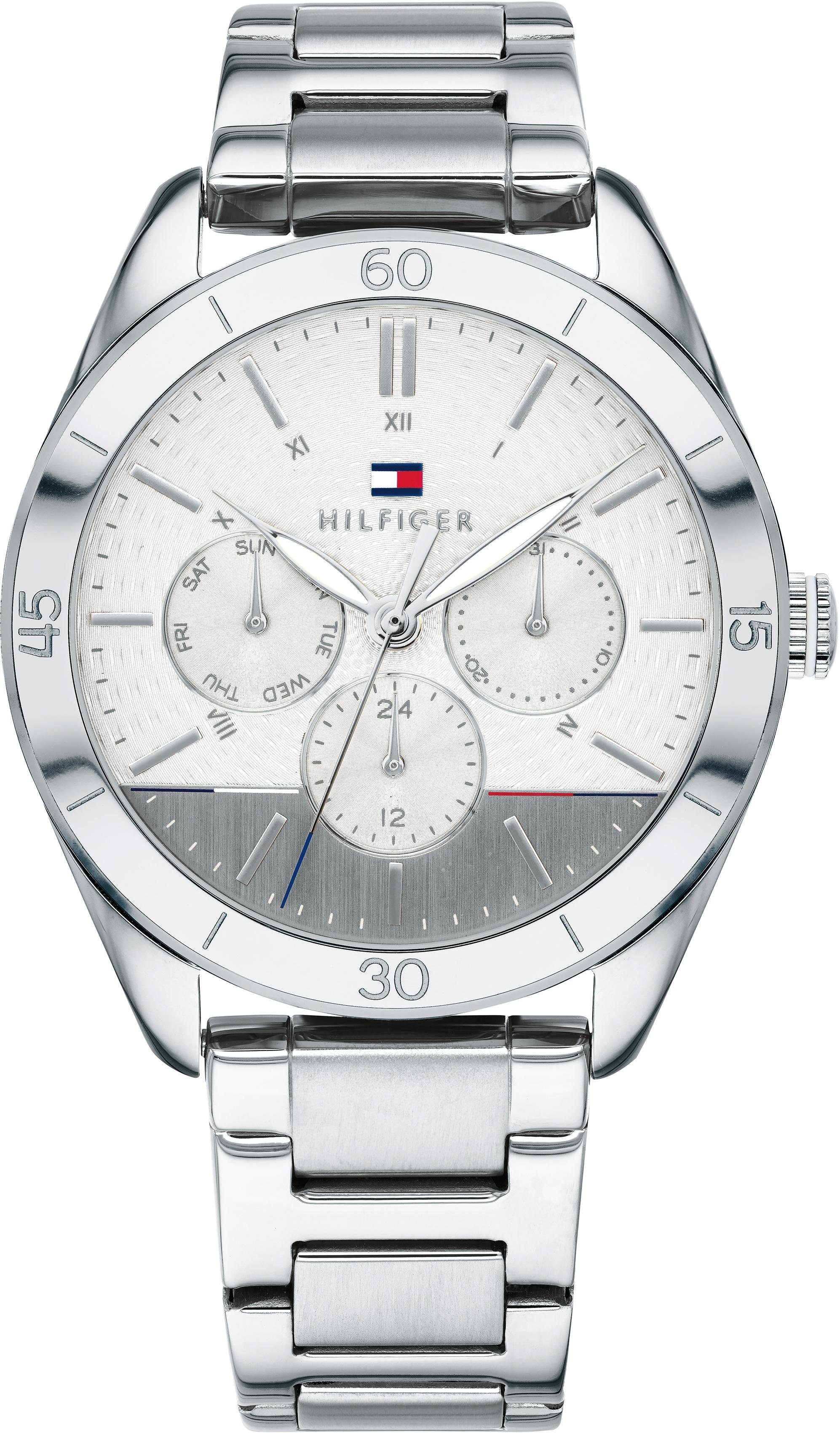 TOMMY HILFIGER Multifunktionsuhr »CASUAL SPORT, 1781882«